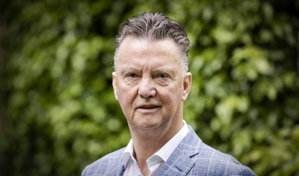 Louis van Gaal. Over de voetbaltrainer is de biografie LvG verschenen, geschreven door journalist Robert Heukels.  (beeld anp / Robin van Lonkhuijsen)