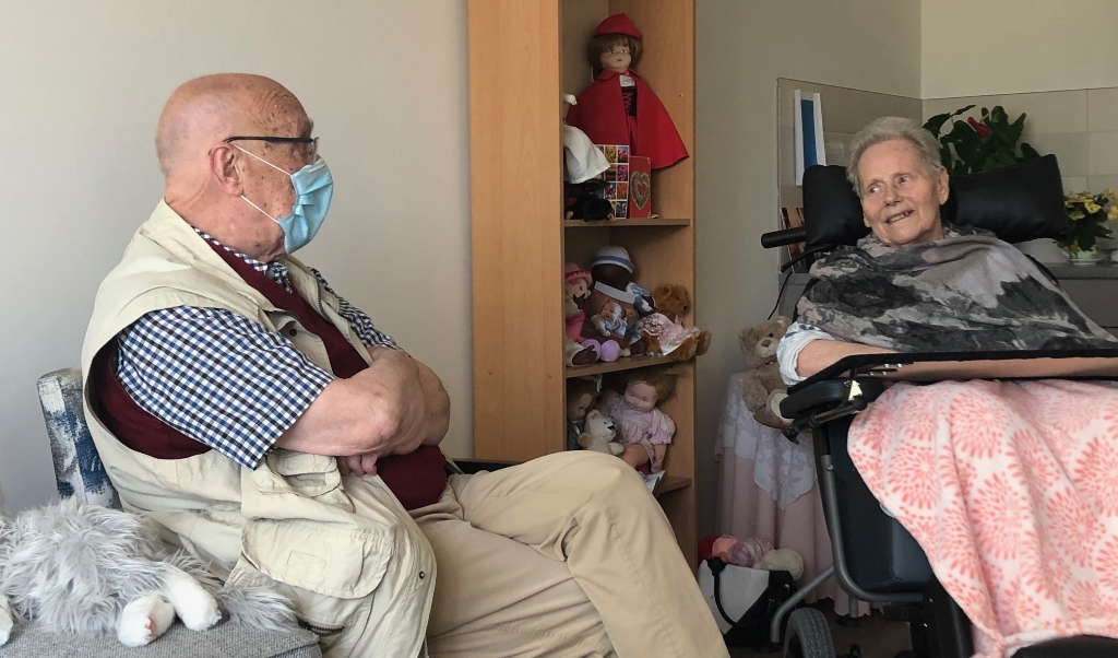 Cees van Die en zijn vrouw Mas  (beeld Laura Visser)