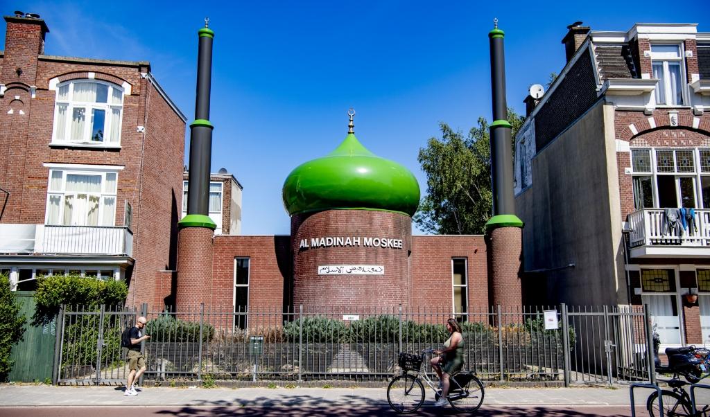 DEN HAAG - De Faizul-moskee aan de Loosduinseweg. ANP ROBIN UTRECHT  (beeld anp / Robin Utrecht)