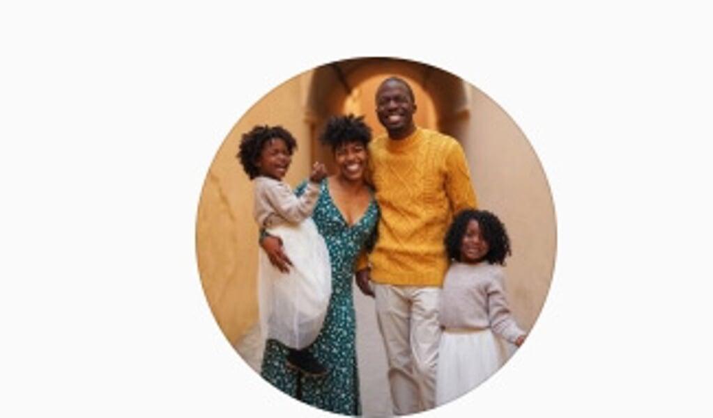 De Amerikaanse familie Hambricks.  (beeld instagram)