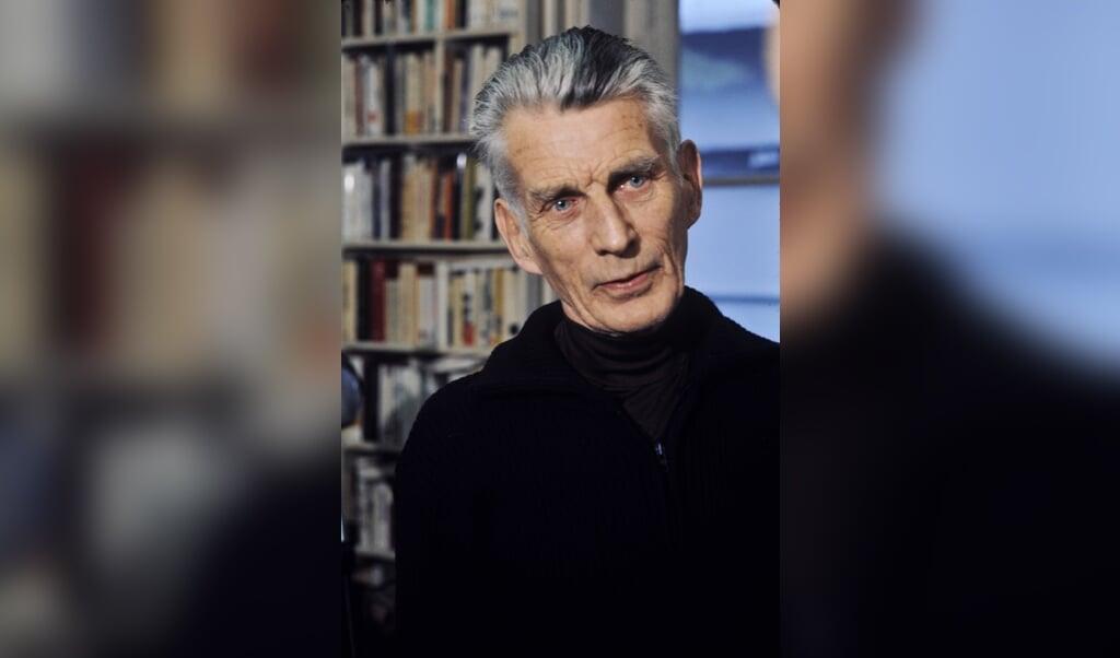 Samuel Beckett (1906-1989).  (beeld wikipedia)