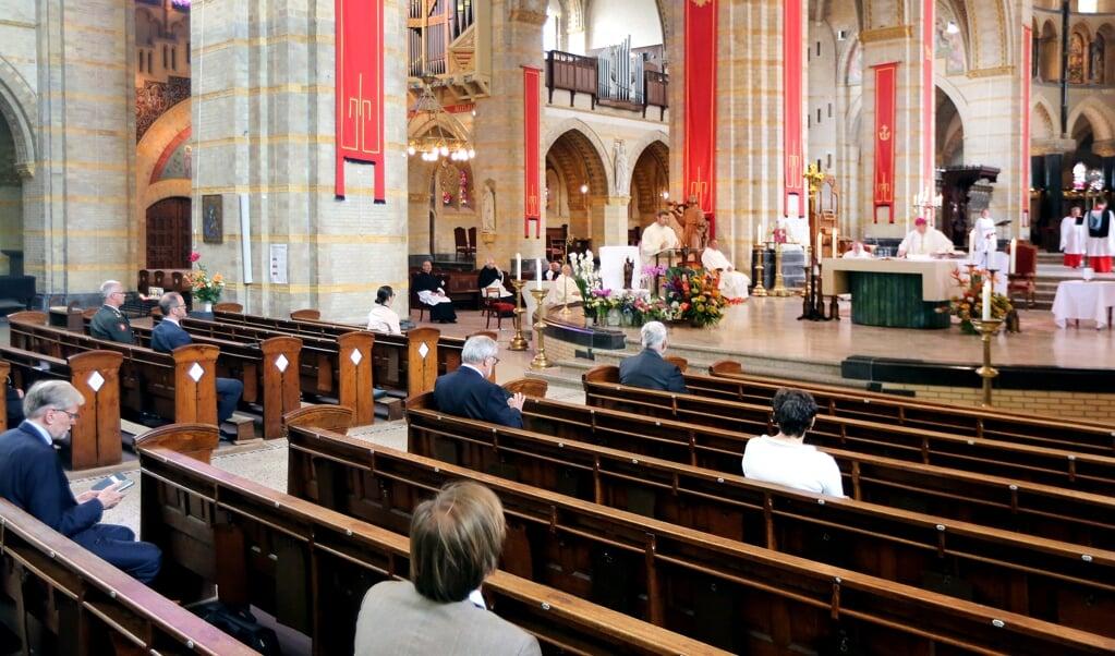 De Sint Bavokerk in Haarlem.  (beeld anp / Ramon Mangold)