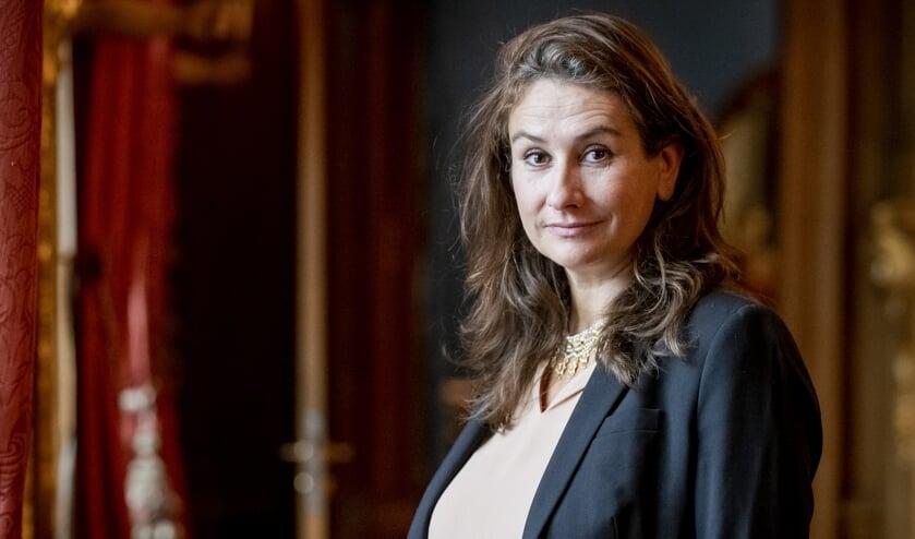 <p>Martine Gosselink, de nieuwe directeur van het Mauritshuis.</p>  (beeld anp / Sem van der Wal)