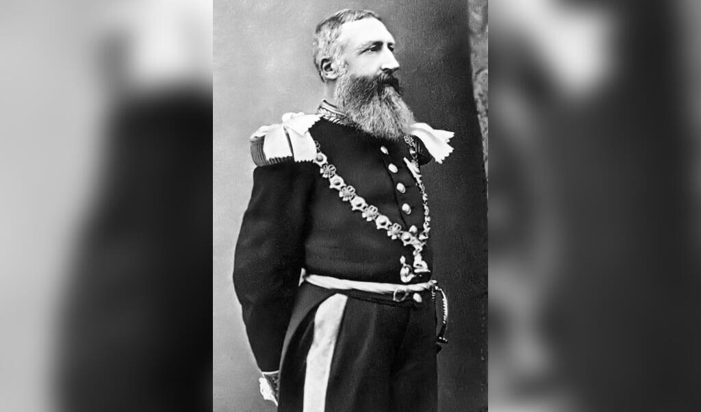 Koning Leopold II.  (beeld wikimedia)