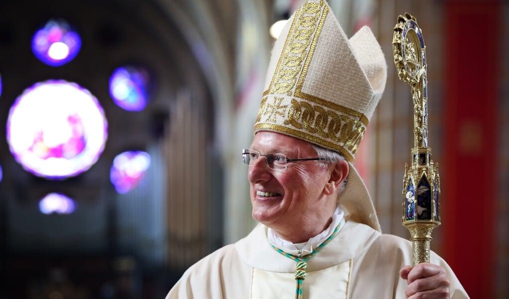 Bisschop Jan Hendriks.  (beeld anp / Ramon Mangold)