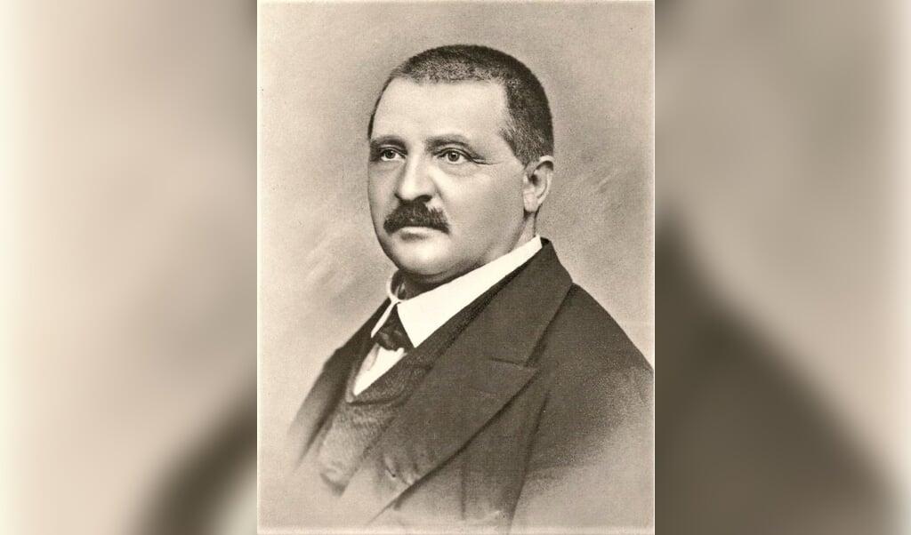 Anton Bruckner in 1868.  (beeld nd)