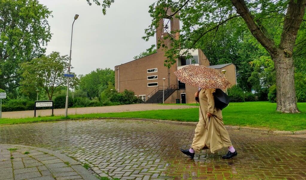 De Bethlehemkerk in Presikhaaf is verkocht aan evangelische gemeente C3.   (beeld nd)