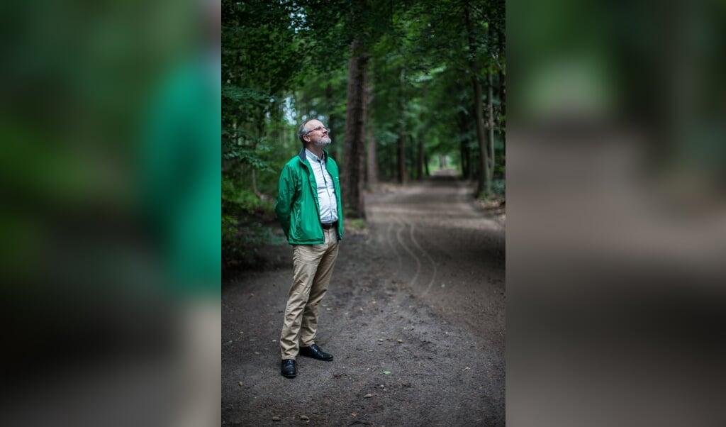 Evert Jan Ouweneel: 'Ik vertel een literaire kroniek. Wat jij ermee doet, is aan jou.'  (beeld Ron Beenen)