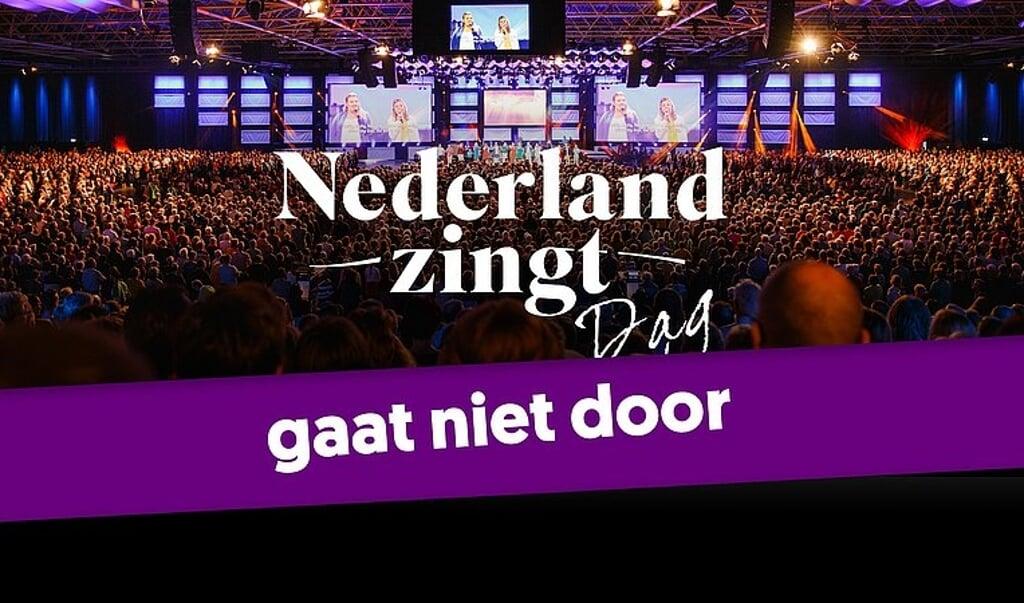 De Nederland Zingt Dag van 2002 is afgelast, die van 2021 staat op losse schroeven.  (beeld EO)