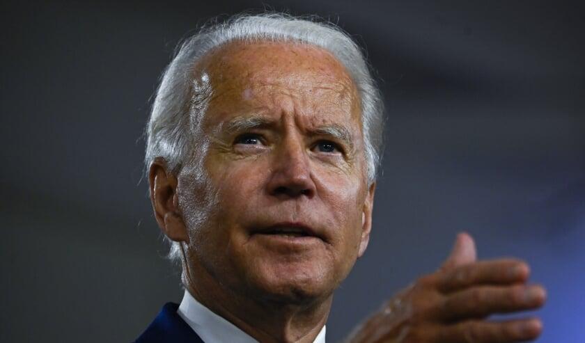 Joe Biden  (beeld afp / Andrew Caballero-Reynolds)