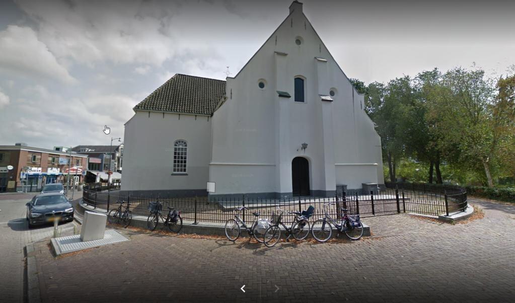 De Oude Kerk in Veenendaal, waar dominee Kees Stam predikant was.   (beeld google streetview)