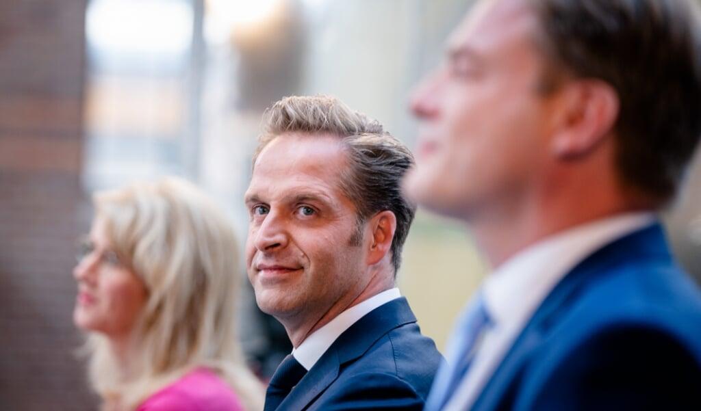 Minister Hugo de Jonge is gekozen als nieuwe lijsttrekker van het CDA.  (beeld anp / Bart Maat)
