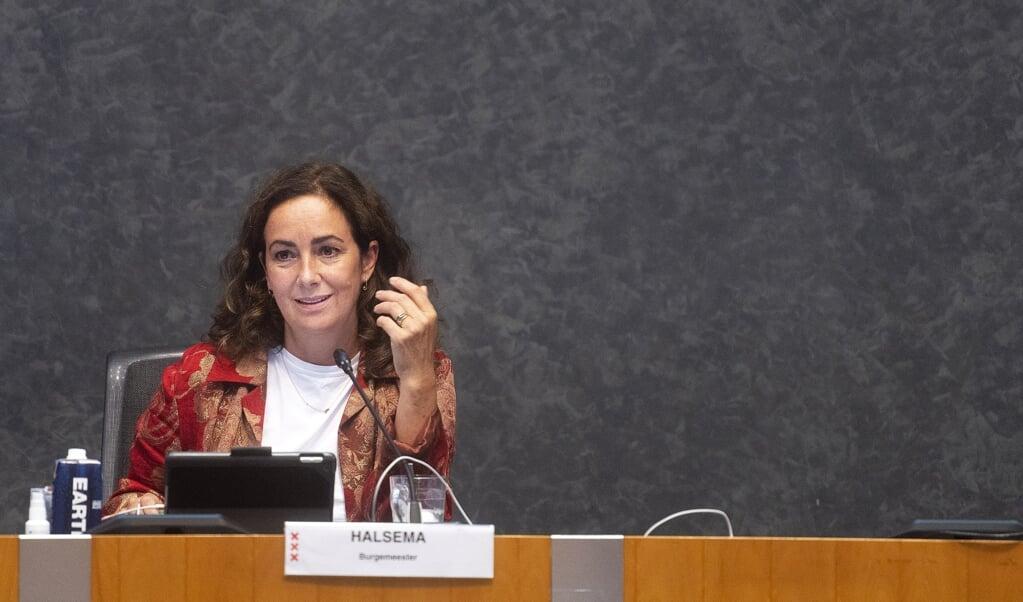 <p>Burgemeester Femke Halsema van Amsterdam.</p>  (beeld anp / Evert Elzinga)