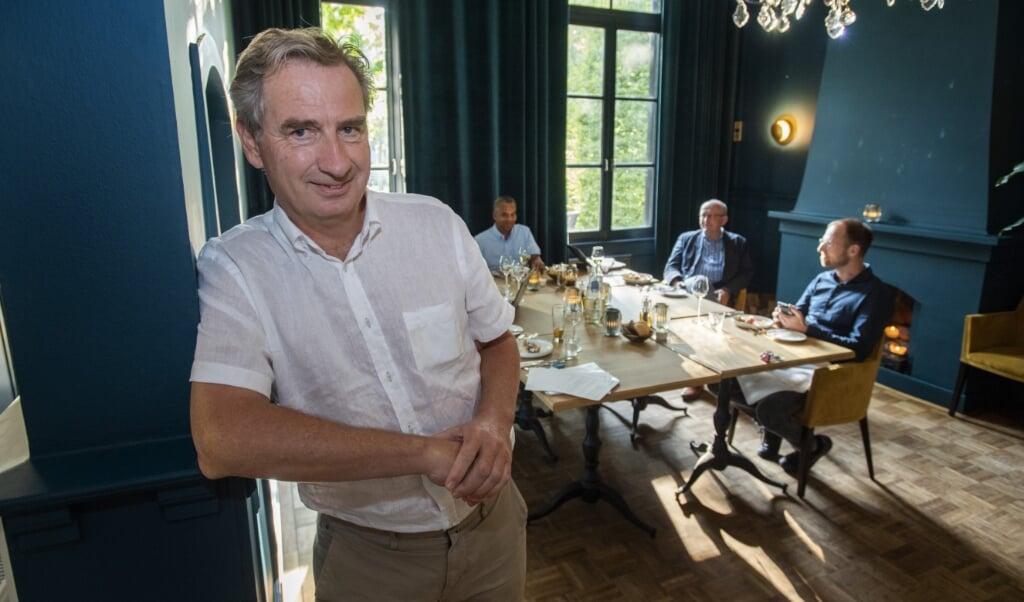 ULVENHOUT Dorpstraat 3 Restaurant 't Jagthuijs Gert Jan Lammers Slaapkunde Vereniging Nederland (SVNL)  (beeld Jeroen van Eijndhoven / Beeld Werkt)