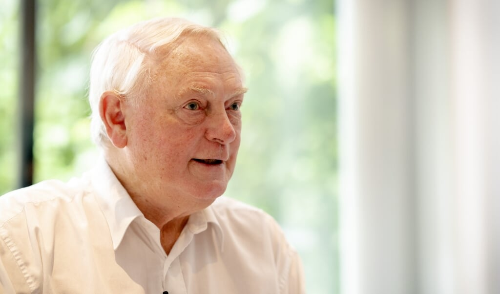 Jan Nagel is gekozen als nieuwe partijvoorzitter van 50Plus  (beeld anp / Sander Koning)