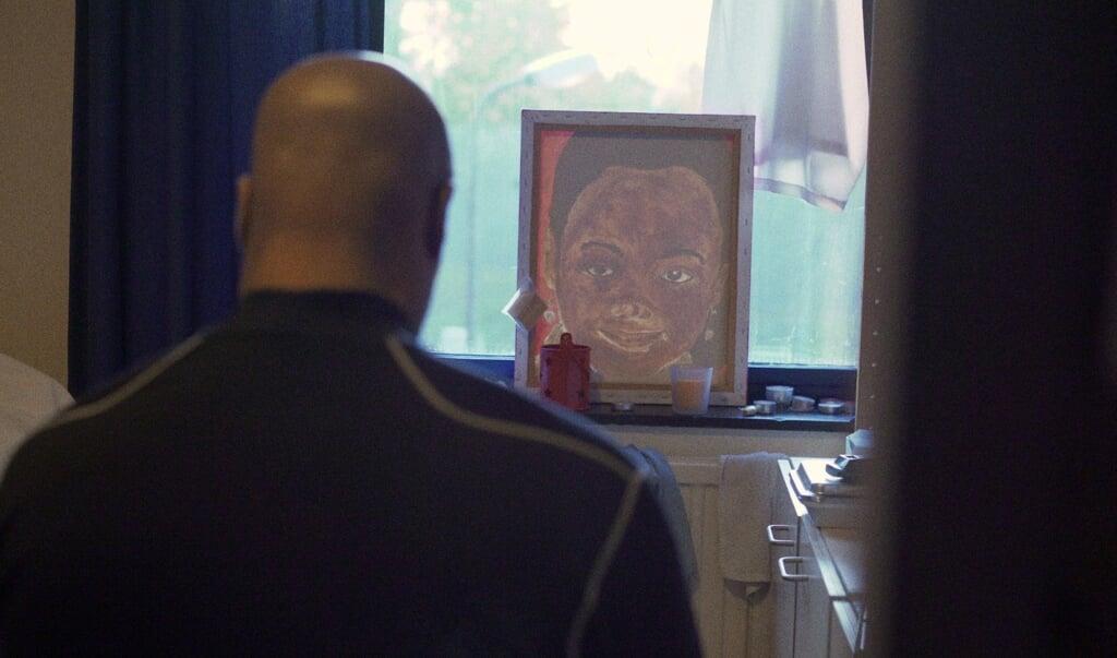 Stilstaand beeld uit de documentaire over het leven van tbs'ers.  (beeld Ingrid Kamerling)