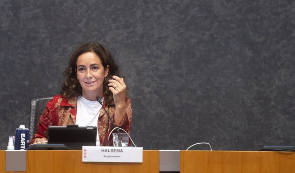<p>Burgemeester Femke Halsema</p>  (beeld anp / Evert Elzinga)