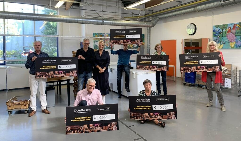 <p>Voedselbanken zijn blij met steun DoorBrekers.</p>  (beeld DoorBrekers)