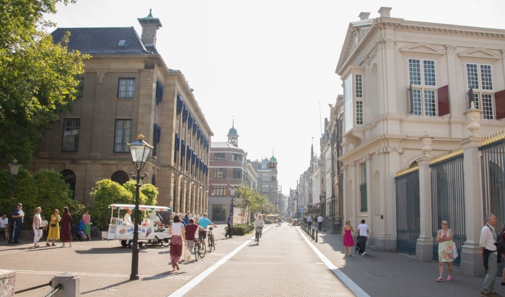 <p>Straatbeeld tijdens Prinsjesdag 2020.</p>  (beeld Hans-Lukas Zuurman)