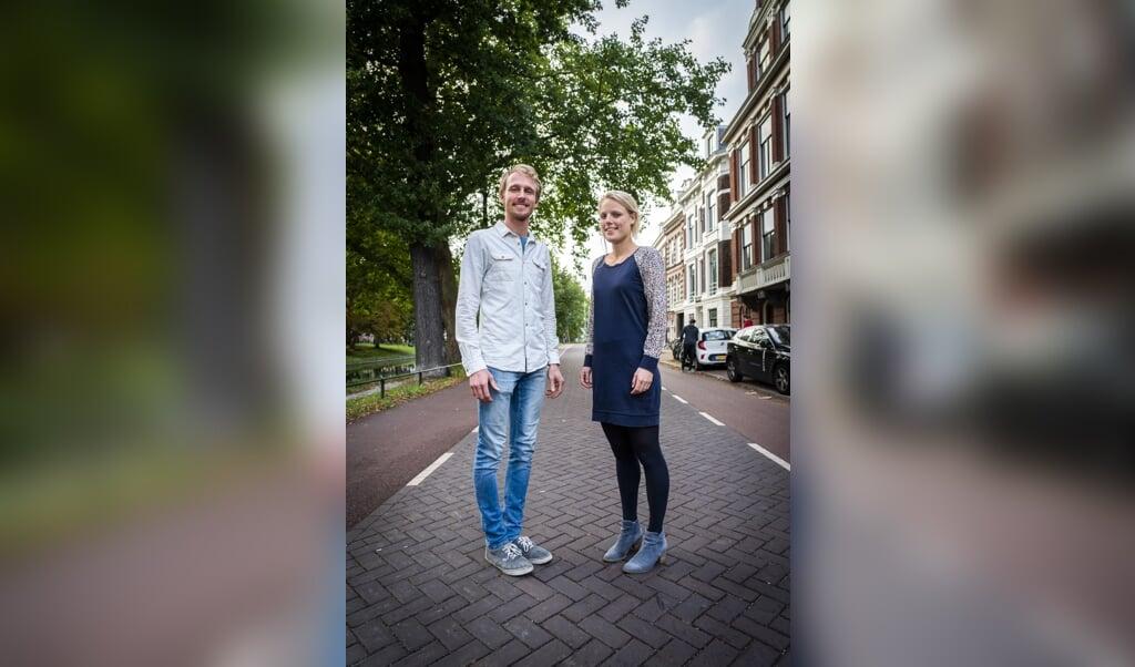 Utrecht: Martin Maayen en Rosanne Woudt.  (beeld Jeroen Jumelet)