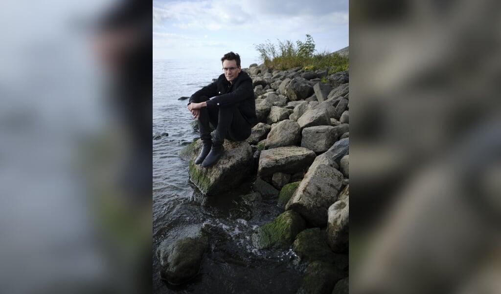 Matthias Declercq, journalist en schrijver.  (beeld Dick Vos)
