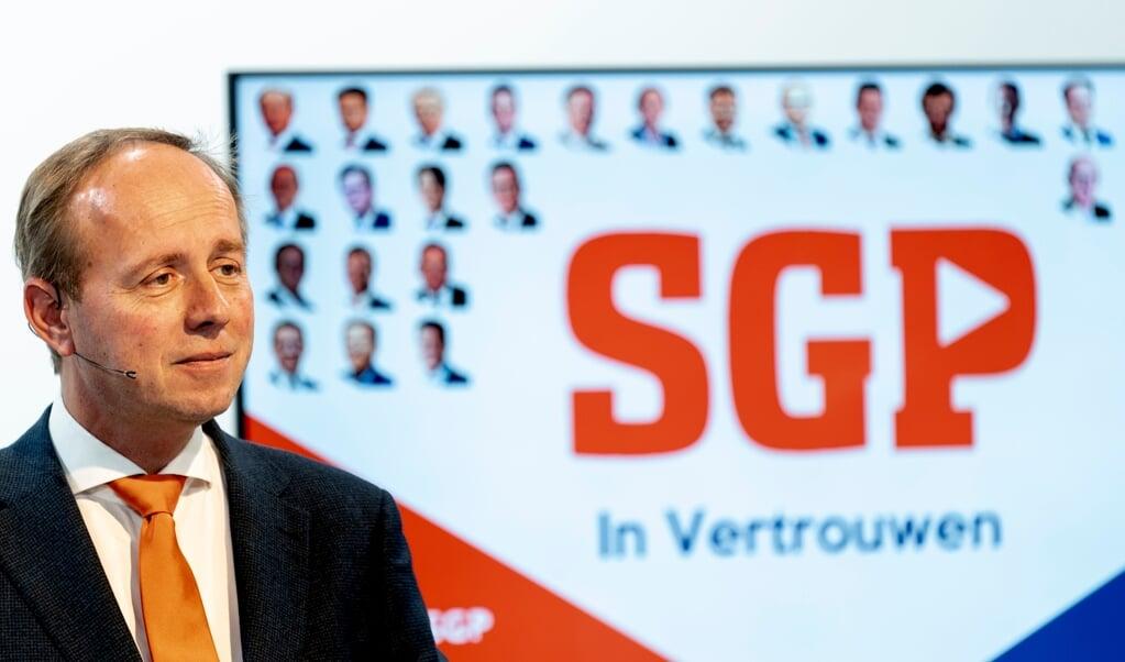 SGP-fractievoorzitter Kees van der Staaij.  (beeld anp / Sander Koning)