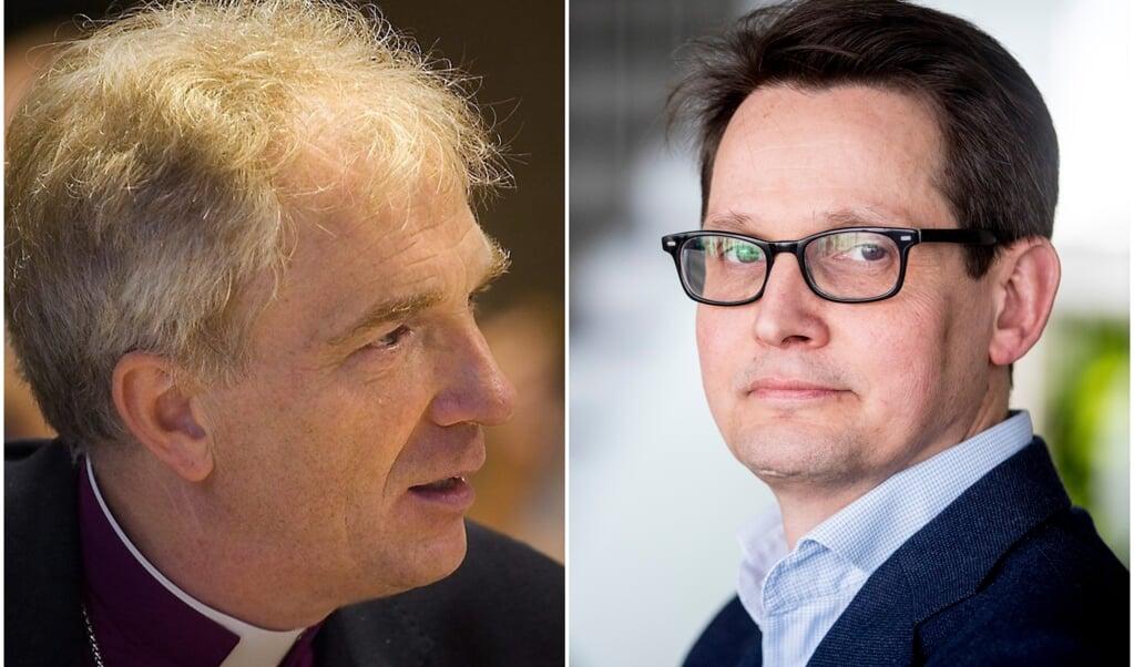 Joris Vercammen en Arie Koornneef  (beeld okk, anp / Jerry Lampen)