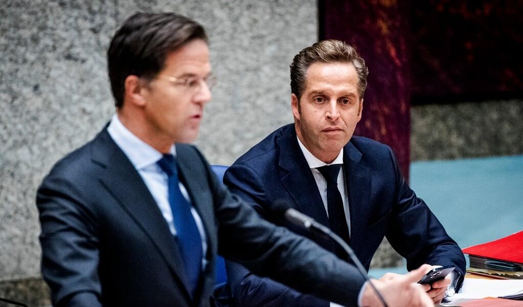 De oppositieleiders eisten deze keer uitleg van premier Rutte.  (beeld anp / Sem van der Wal)