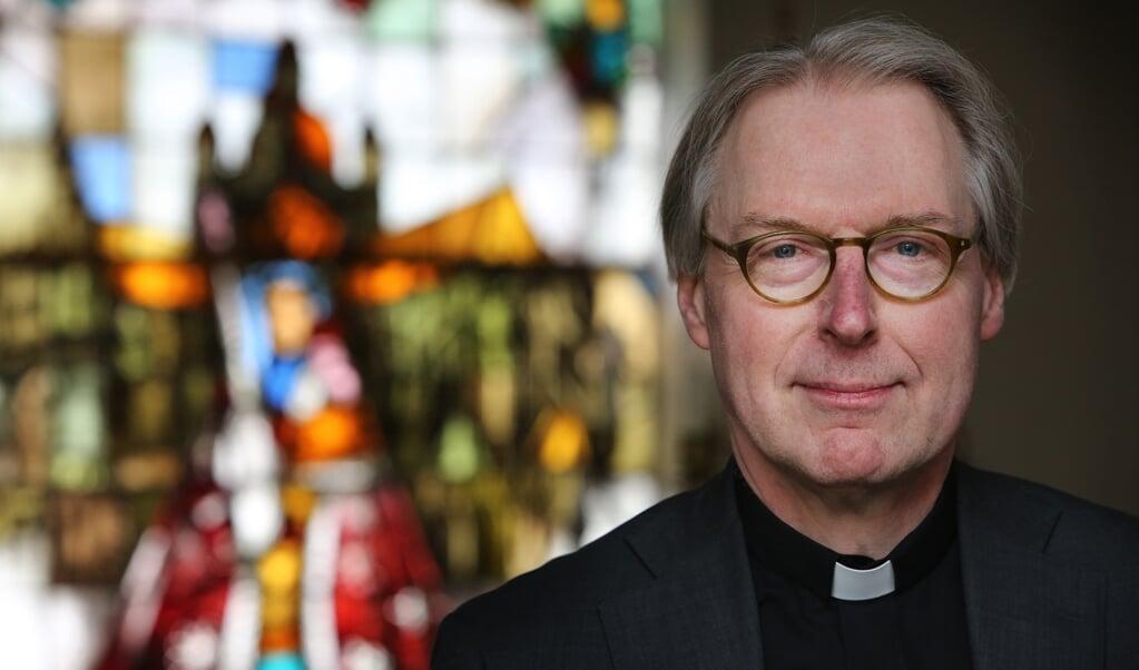 20160305 - 's Hertogenbosch - Bisschop Gerard de Korte wordt per 14 mei de nieuwe bisshop van 's Hertogenbosch.  (beeld anp / Ramon Mangold)
