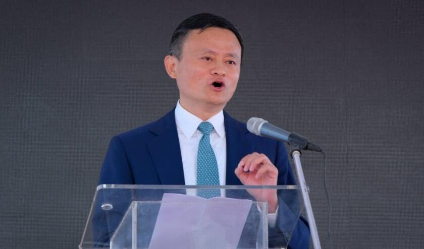 Jack Ma in 2019.  (beeld epa)