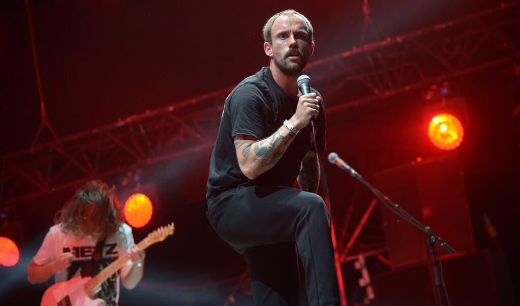 De punkband Idles refereert in verschillende songs aan God en Jezus  (beeld epa / Hugo Marie)