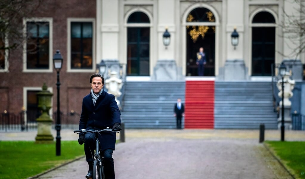 Premier Mark Rutte.  (beeld anp / Remko de Waal)