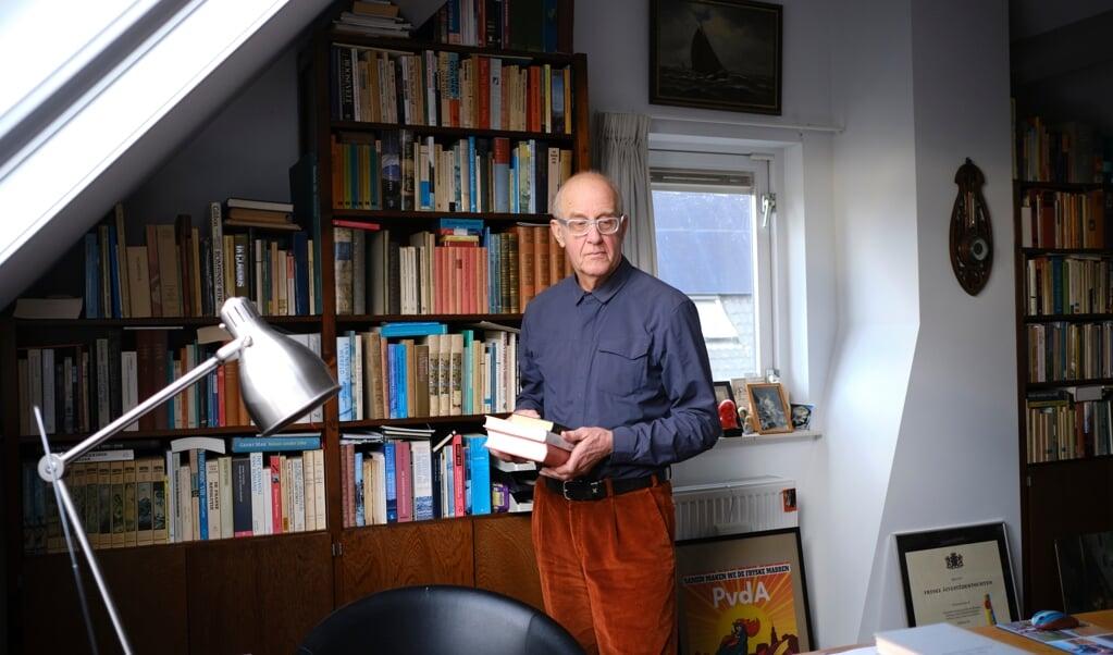 Roel Kingma: 'Als je besluit je dissertatie te gaan schrijven, heb je geen idee wat je je op de hals haalt.'   (beeld Dick Vos)
