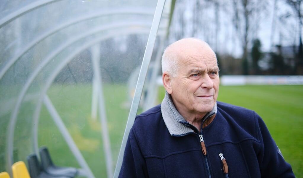 Evert ten Napel, sportverslaggever: 'Het mooiste aan mijn baan is dat het een goedbetaalde hobby is.'  (beeld Dick Vos)