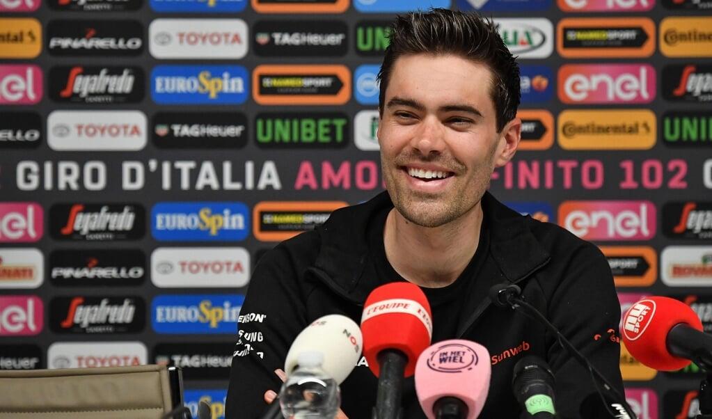 Tom Dumoulin  (beeld epa / Alessandro di Meo)