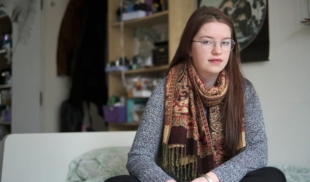 Maria is donorkind en heeft een rechtzaak aangespannen tegen het Rijnstate Ziekenhuis om de identiteit van haar biologische vader te achterhalen.  (beeld Dick Vos)