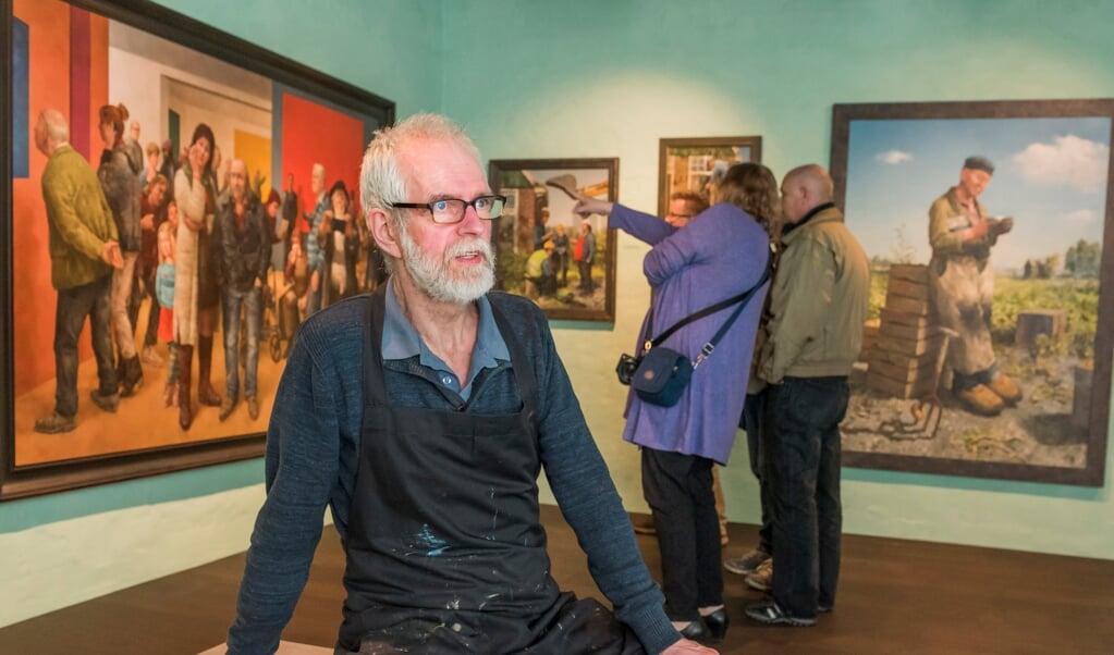 Marius van Dokkum: 'Ik probeer altijd positief vooruit te kijken.'  (beeld Ruben Schipper)