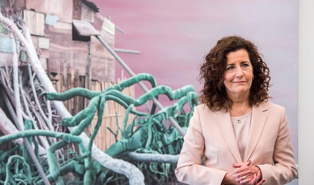 Minister Ingrid van Engelshoven  (beeld anp / Ferdy Damman)