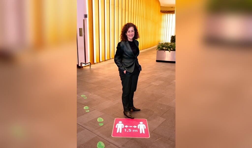Minister Ingrid van Engelshoven (D66) van Onderwijs, Cultuur en Wetenschappen.  (beeld Dirk Hol)