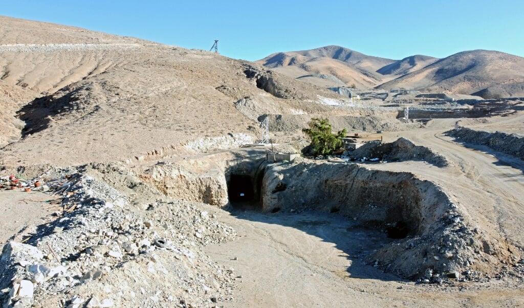 De Atacama-woestijn in het noorden van Chili is een van de droogste gebieden op aarde.  (beeld afp / Alex Catrin)