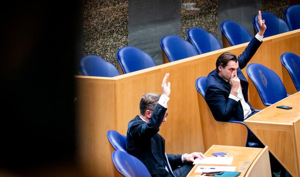 Hans van de Breevaart meent dat Forumleider Thierry Baudet wordt gedemoniseerd.  (beeld anp / sem van der wal)
