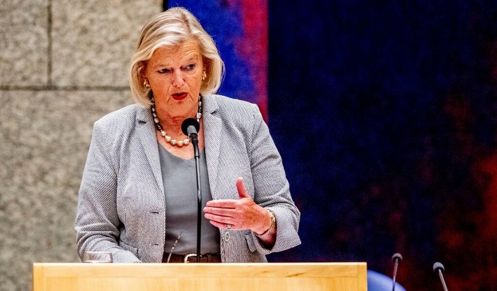 Staatssecretaris Ankie Broekers van asielzaken  (anp / Robin Utrecht)