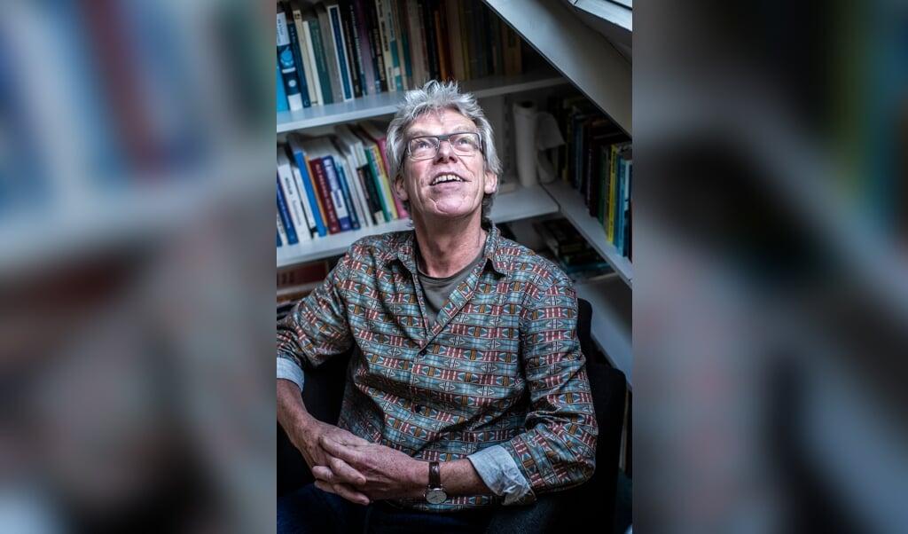 Hans Harbers: 'Als het gaat om sport ga ik uit mijn dak. En op een feestje ben ik niet matig met drank.'   (beeld Duncan Wijting)