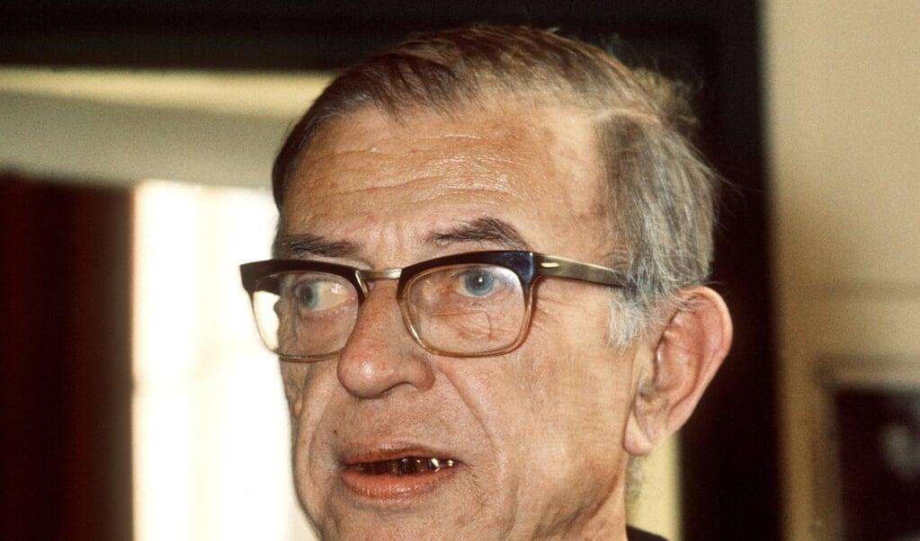 Jean-Paul Sartre  (beeld afp)