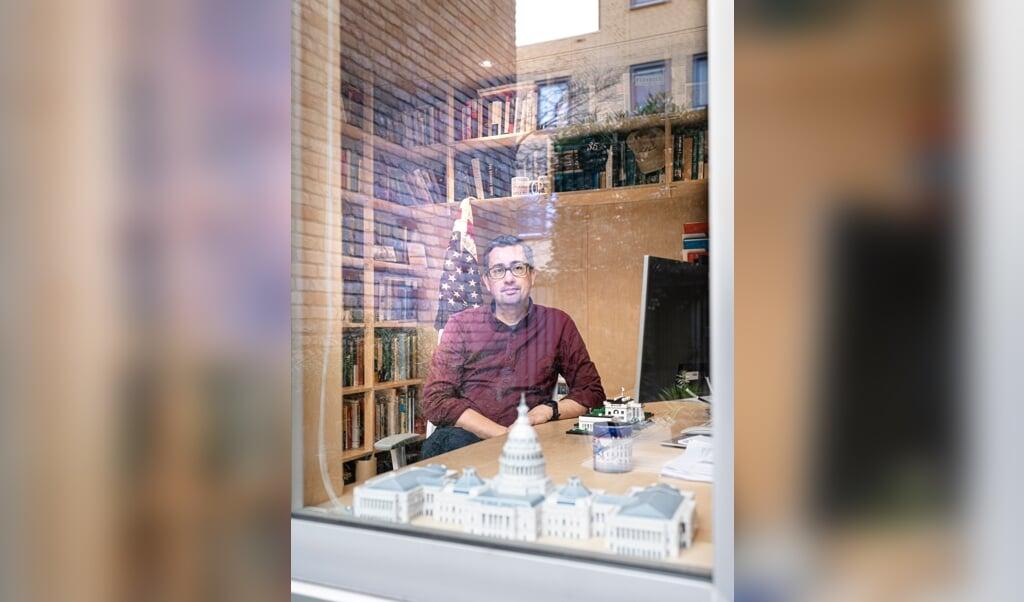 Kenneth Manusama, Amerikakenner  (beeld Martin Waalboer)