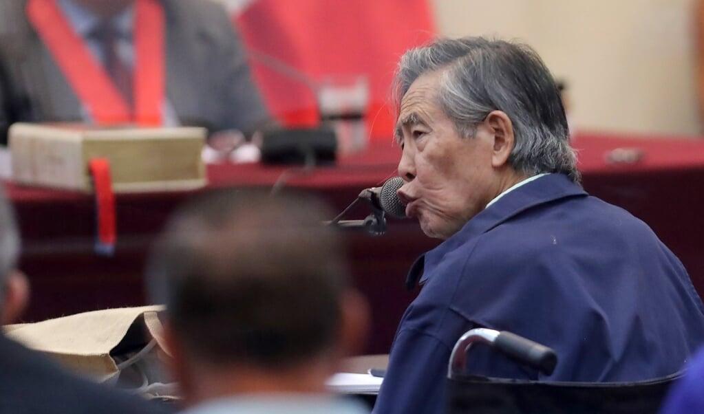 Alberto Fujimori  (epa/ Ernesto Arias)