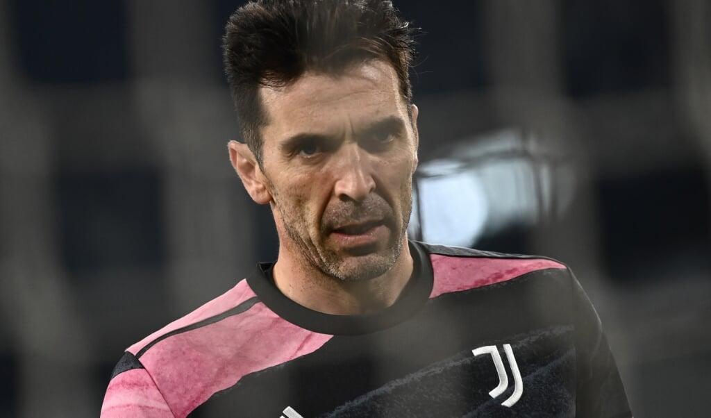 Gianluigi Buffon  (beeld Marco Bertorello / afp)