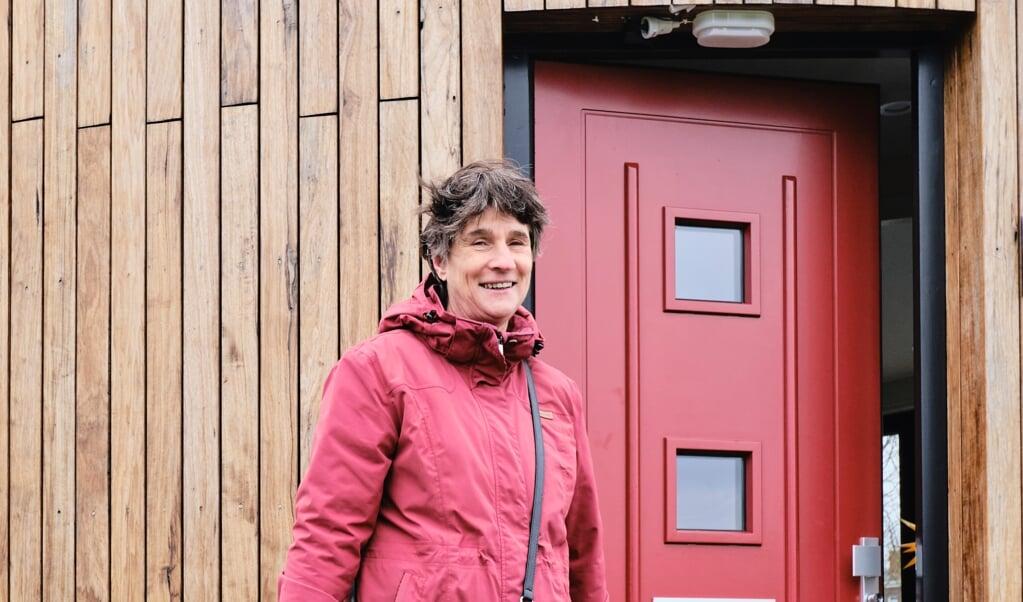Bettie Woord is als predikante verbonden aan het missionaire project Schone Poort in Almere.  (beeld Dick Vos)