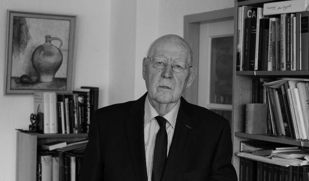 Professor W. Balke  (beeld Anton Dommerholt)