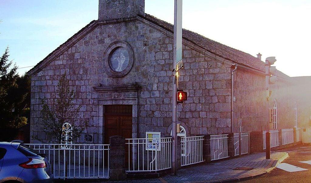 De kerk van André Trocmé  (beeld nd)